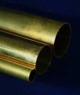 brass round tubes